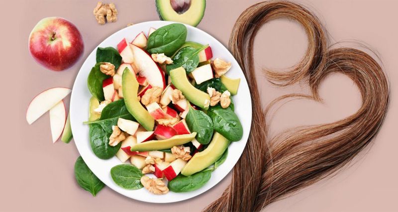 diet which is good for hair health