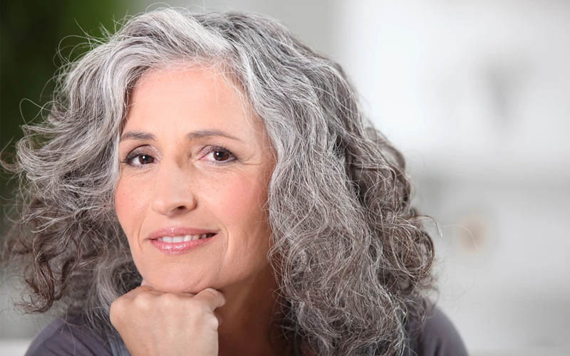 aging and grey hair