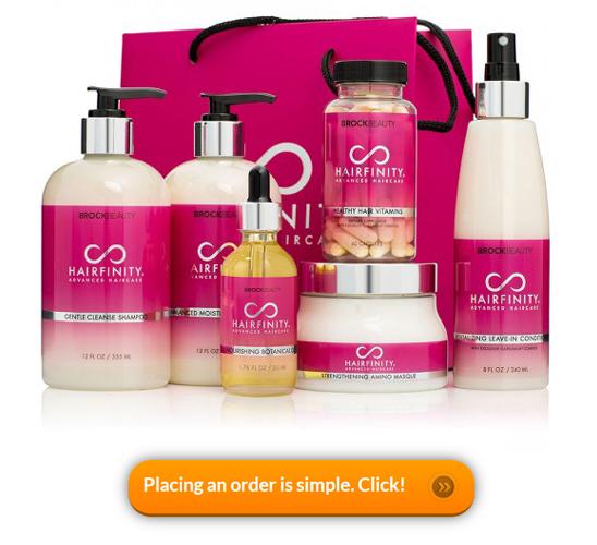 Buy Hairfinity product range