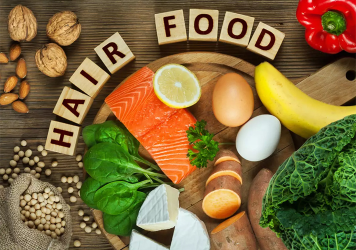 Healthy Diet for Hair Growth