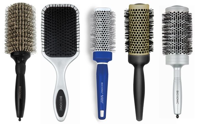 iconic hairbrushes