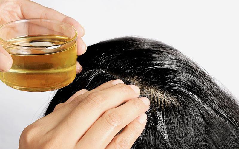 Avocado Oil for Scalp Massage